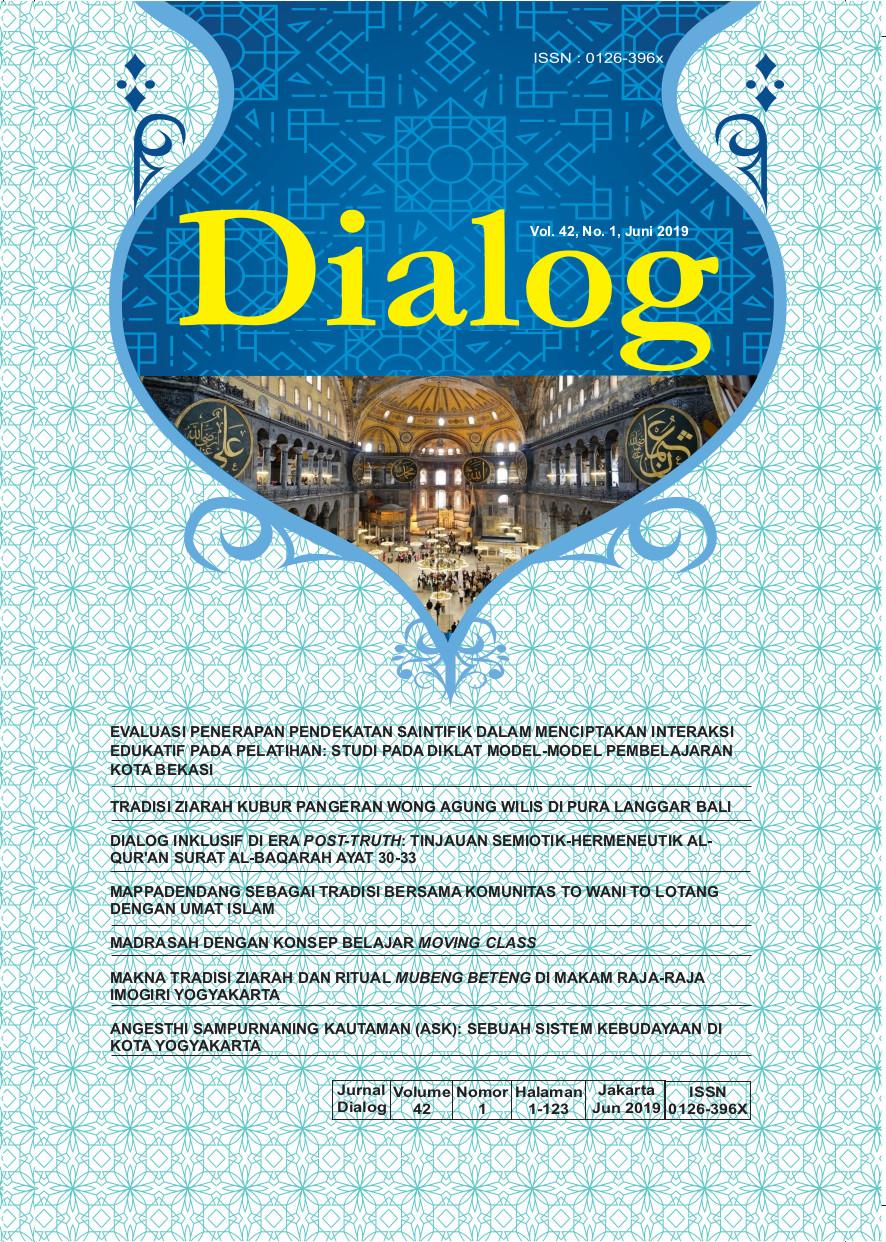Dialog Vol. 42 No. 1 2019
